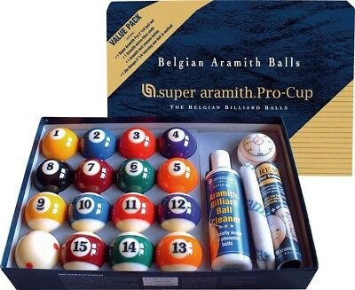 Super Aramith Pro Cup Value Pack - Free Shipping & 3 Free Bonus Items