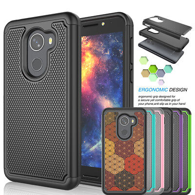For T-Mobile REVVL / Alcatel A30 Fierce Phone Case Hybrid Shockproof Hard Cover