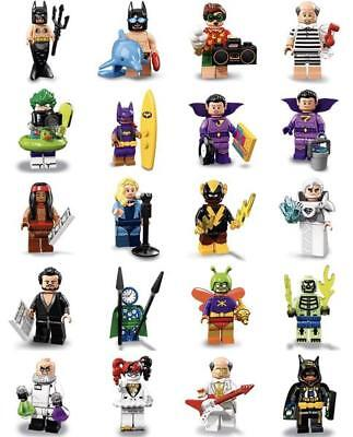 LEGO 71020 Minifigures THE BATMAN MOVIE 2 - Scegli i Personaggi dal Menu