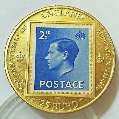 Personal collection release England Edward viii Proof Pattern Coin