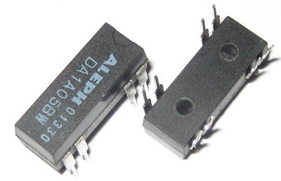 2 X Aleph 5V Coil 0.5 Amp Relay Rated at 200 VDC - Small 5 V PC Mount DIP Relay