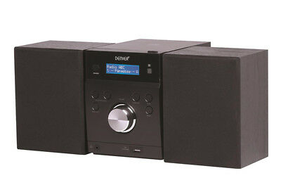 Hi-Fi System with CD, DAB+ Digital Radio, FM, USB and Aux In Denver MDA 240