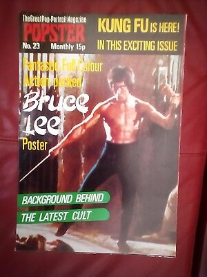 Popster no.23 featuring Bruce Lee as new