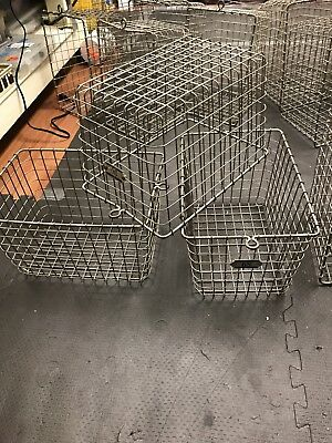 1 Kaspar Wire Works vintage metal Gym basket/  locker