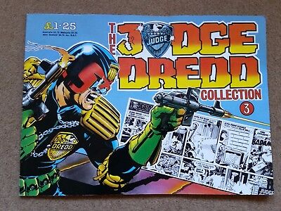 Judge Dredd collection 3, strips from the Daily Star