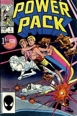 Power Pack Vol 1-3 Digital Comic Books COMPLETE RUN DVD-ROM +Extras