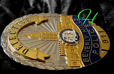 h7/ Historisches police badge / Detective Beverly Hills Police, California