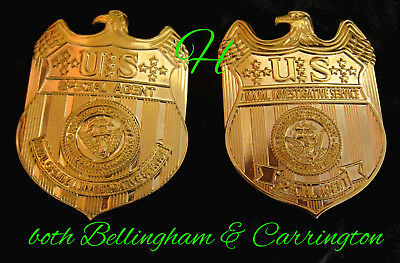 h7/ Historisches badge/ choose one from two NAVAL Investigative badges -  NCIS
