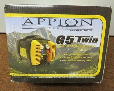 Appion G5 Twin Refrigerant Recovery Unit - NEW