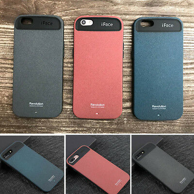 Hot iface Hybrid Matte Durable Hard Case For iPhone X XR XS Max 6 6s 7 8 Plus