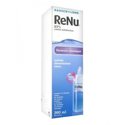 Bausch + Lomb ReNu MPS Solution Multifonctions 360ml
