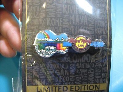 NEW Hard Rock Cafe HRC Limited Edition Guitar Pin / Frozen Niagara Falls, USA