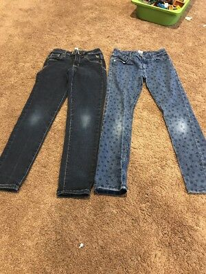 Gymboree Size 8 Polka For Jeans! Justice Size 8 Skinny Jeans! Girls Fall Winter