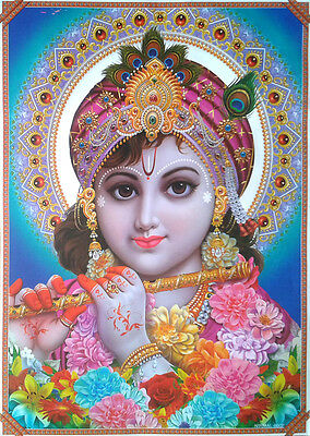 LORD SHRI KRISHNA - Beautiful POSTER (Large Size: 20