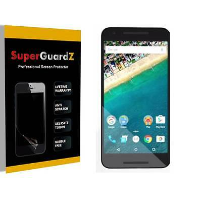 4X SuperGuardZ HD Clear Screen Protector Shield Guard Armor Film For LG Nexus 5X