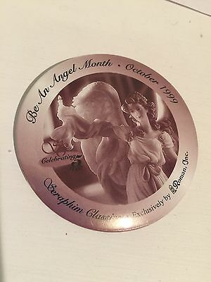 ~SERAPHIM ANGEL PIN Back Button  Be An Angel October 1999. Roman Inc.