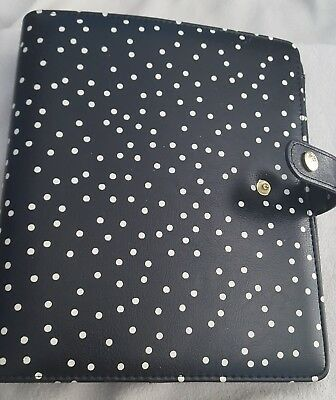 Carpe Diem A5 Planner_black speckled_Gently used_USA SHIP ONLY