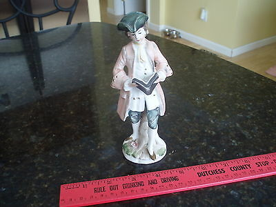 vintage Arnart creation porcelain Japan Victorian Colonial Man Paul Revere ??