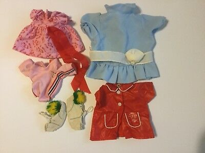 Lot of Vintage Snoopy Belle Doll Clothes Outfits