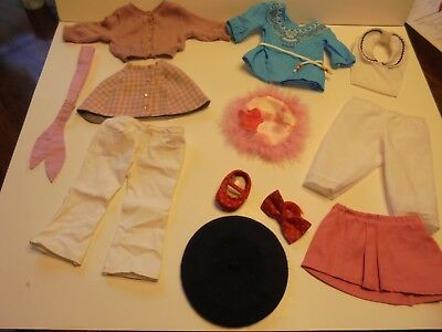 GENUINE AMERICAN GIRL DOLL Clothes & Accessories Lot Of 7 Pieces