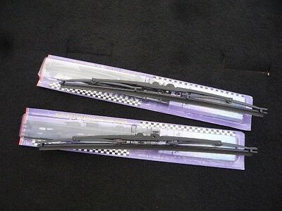 """PACK of TWO Set 16"""" inch Rubber All Season Wiper Blades (also fits back window)"""