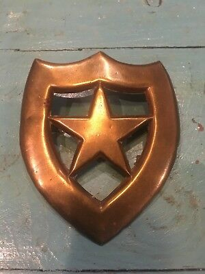 Antique Obsolete First responder police fireman badge shield authentic see desc