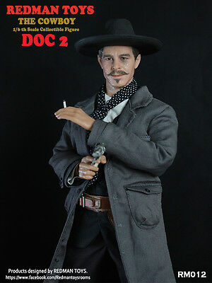 1/6 Scale REDMAN TOYS The Cowboy Tombstone Doc Holliday Val Kilmer No Iminime