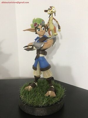 """Jak and & Daxter / Game Statue / Naughty Dog / Gaming Heads Collectible 15"""" 1:6"""