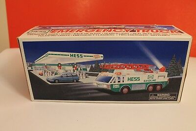Hess Toy Truck, 1996 Emergency Truck, Never Been Out Of The Box