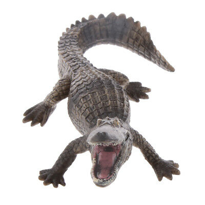 15cm Long Large Crocodile Figure Animal Model for Kids Learning Fun Play Toys