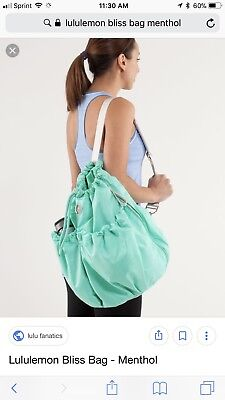 Lululemon Bliss Bag Tote Menthol