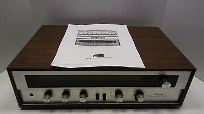 Vintage Sansui Model 210 AM FM Stereo Tuner Amplifier