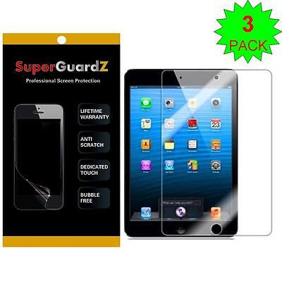 3X SuperGuardZ HD Clear Screen Protector Film Cover Guard Shield Apple iPad Mini