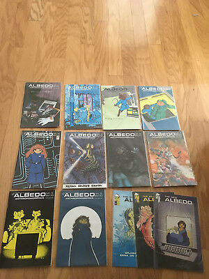 Albedo 5 to 14 all VF or better plus 3 issues new Albedo
