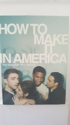 How To Make It In America Season One [ 2 DVD Set ] LIKE NEW, FREE Next Day Post