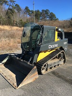 2012 John Deere 323D Skid Steer Loader Enclosed Heated Cab Excellent Tracks