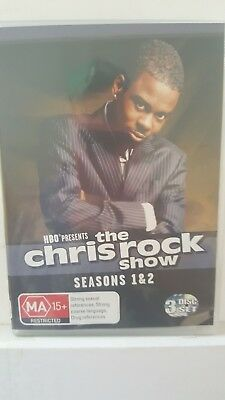 Chris Rock : Season 1-2 [3 DVD Set] LIKE NEW, Region 4, FREE Next Day Post