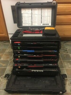 ARMSTRONG TOOL KIT PELICAN CASE MODEL SARTK W/ FLUKE Very Good Condition!