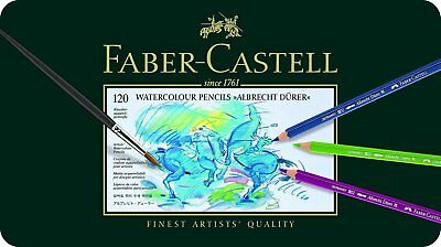 Faber-Castell Albrecht Durer 120 Watercolor Pencil Set Tin