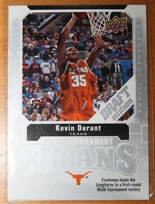 2009-10 Upper deck Draft Edition Kevin Durant Tournament Titans TT-KD (BV 4$)
