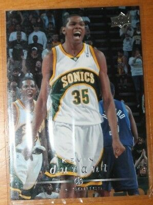 2008-09 Upper Deck Premium Kevin Durant Base Card No. 177 (BV 2$)