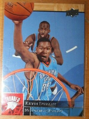 2009-10 Upper Deck Premium Kevin Durant Base Card No. 135 (BV 2$)