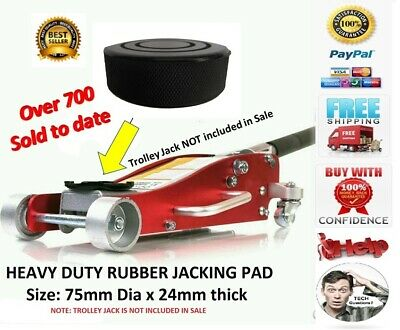 2.5 Ton Heavy Duty Low Profile Vehicle Car Garage Trolley Lift Lifting Jack Pad