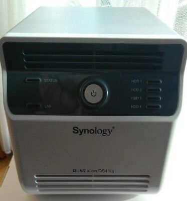 Synology DS413J NAS-Server (1,6GHz, 512MB RAM, 4-Bay, SATA II, 2x USB 2.0)
