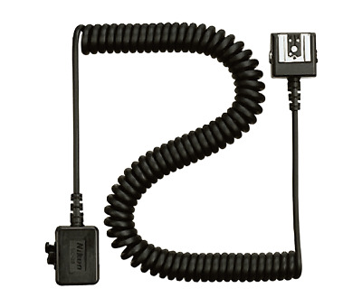 NEW Genuine Nikon SC-28 SC28 Dedicated 3' TTL Coiled Sync Cord with ISO Shoe