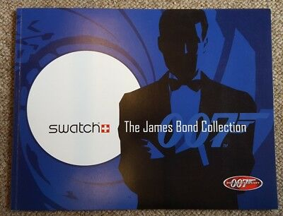"SWATCH Katalog 007 ""The James Bond Collection"" 2002 *top* DIN A4"