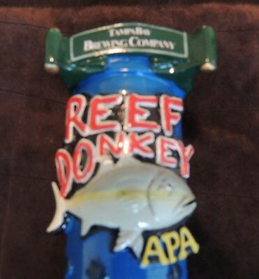New Tampa Bay Reef Donkey Tap Handle