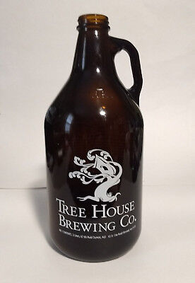 Tree House Brewing 2L Growler with Brimfield Address