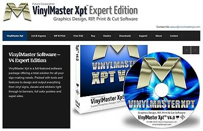 VinylMaster XPT V.4 Full License single user Design & RIP software