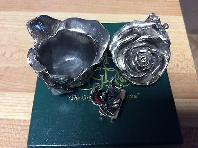 harmony kingdom, 925 solid Sterling Silver ROSE, Limitited Edition of 1000